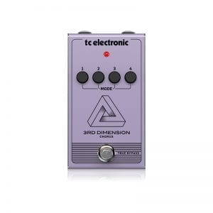TC ELECTRONIC, PEDAL EFECTO 3RD DIMENSION CHORUS