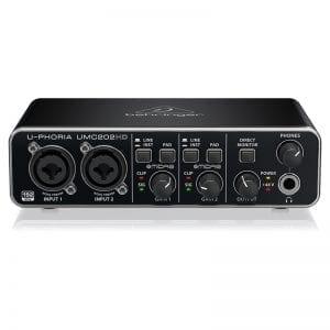 BEH, INTERFAZ AUDIO USB UMC202HD