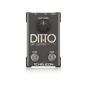 TC HELICON, PEDAL EFECTO DITTO MIC LOOPER