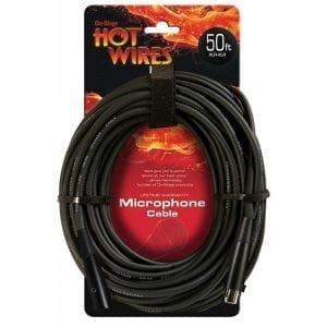 ON STAGE, CABLE MICROFONO 15,24M XLR-XLR MC12-50