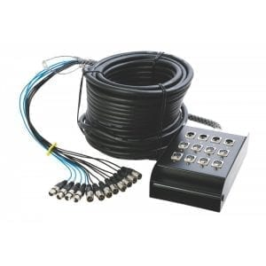 ON STAGE, CABLE INTERFAZ 8X4 15,2MT SNK8450V